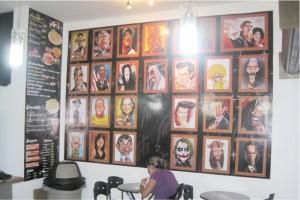 Foto mural  personajes
