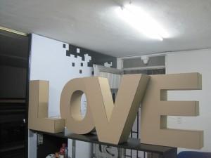 love cartón