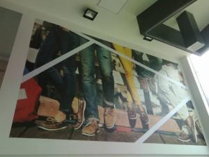 Foto mural almacen