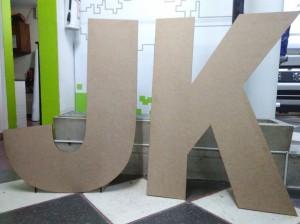 letras mdf