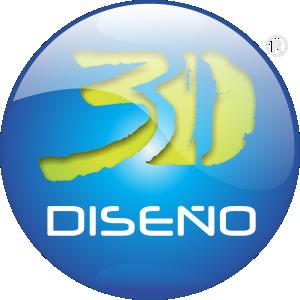 logo 3d diseño