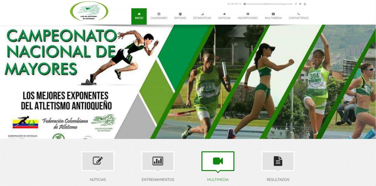 liga de atletismo