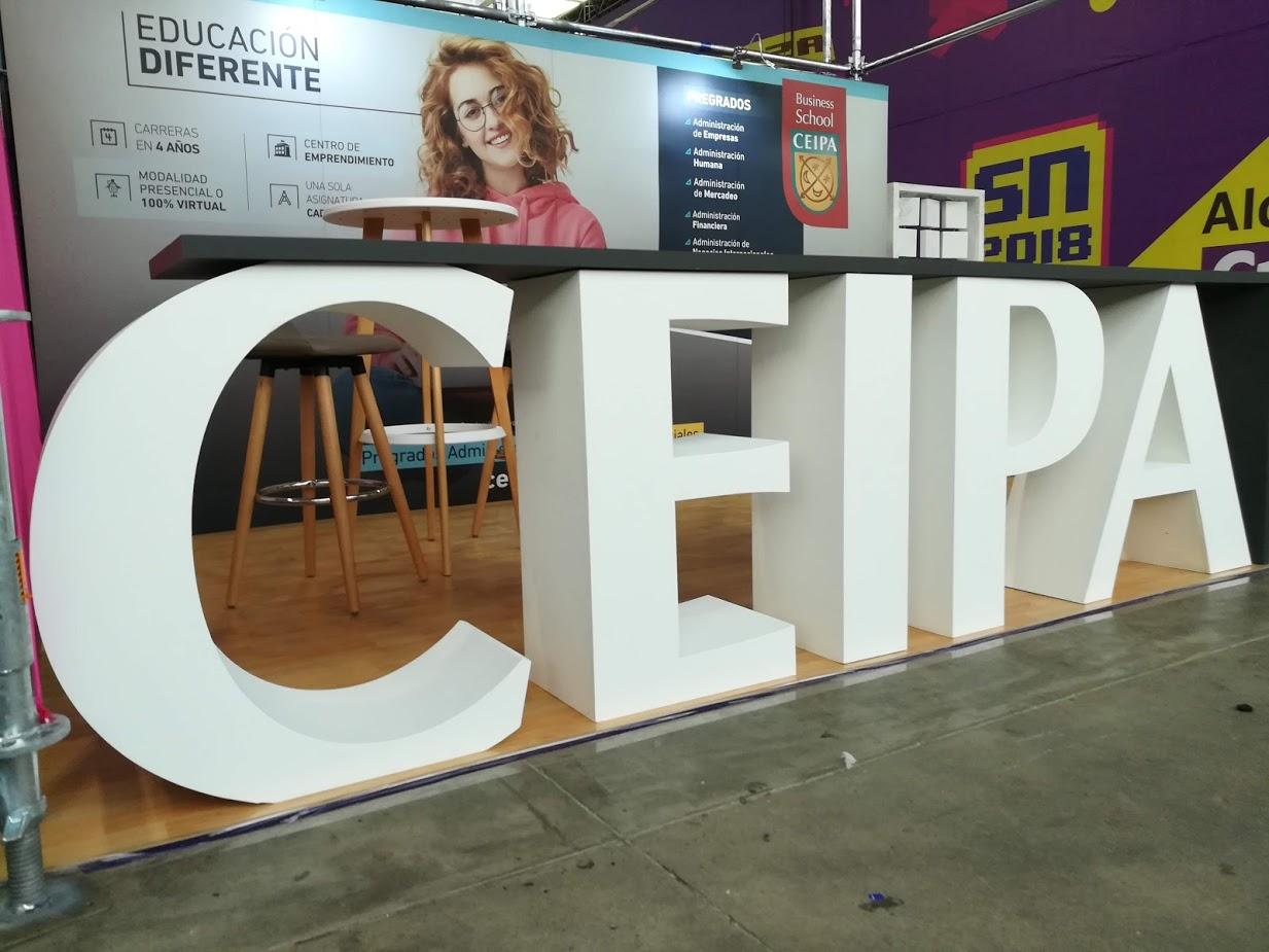 letras gigantes CEIPA